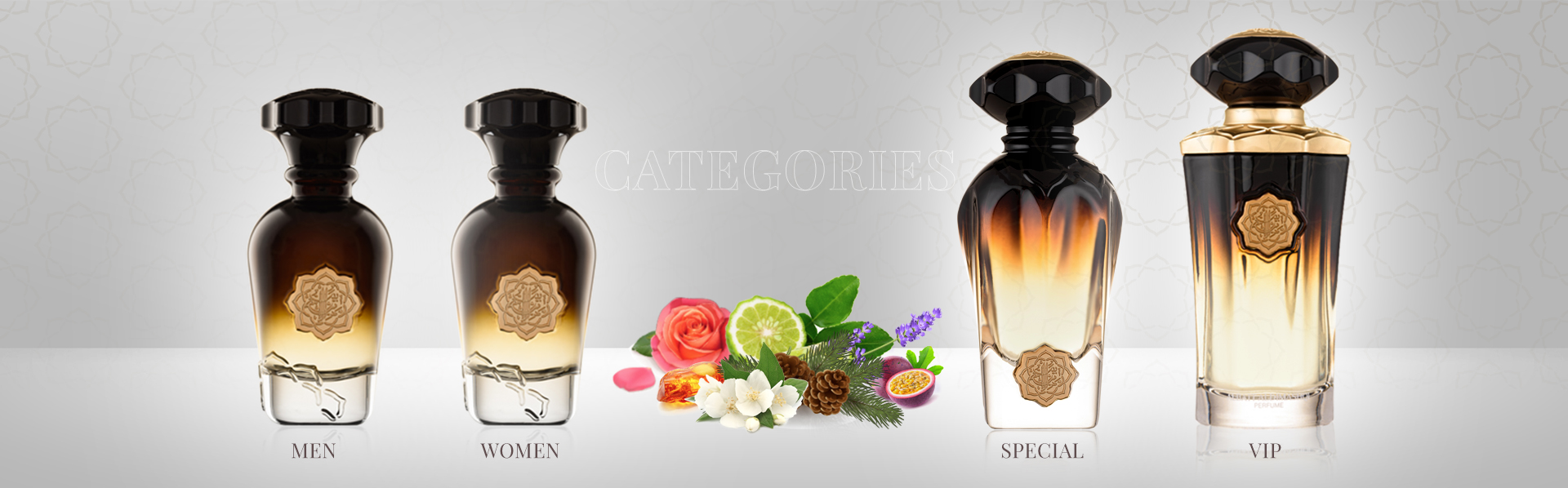 What are the Categories in our Perfume Offerings?