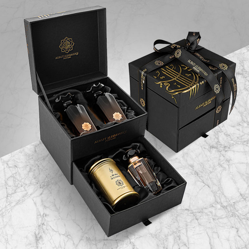 SPECIAL GOLD GIFT BOX
